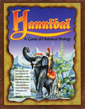 Hannibal DOS front cover