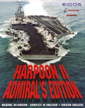 Harpoon II: Admiral's Edition DOS front cover