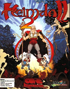 Heimdall 2: Into the Hall of Worlds DOS front cover