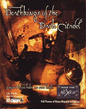 Hexen: Deathkings of the Dark Citadel DOS front cover