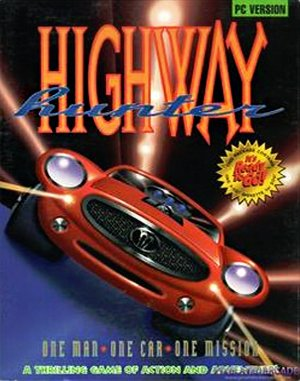 Highway Hunter DOS front cover