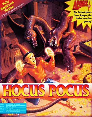 Hocus Pocus DOS front cover