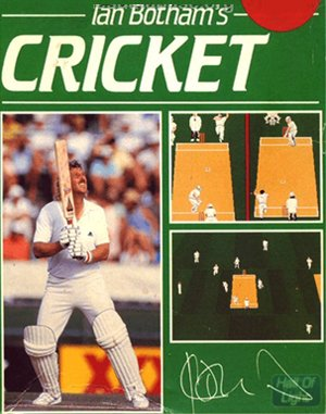 Ian Botham's Cricket DOS front cover