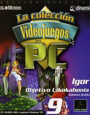 Igor: Objective Uikokahonia DOS front cover