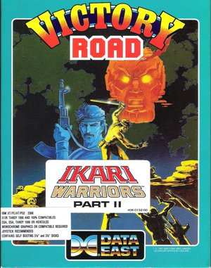 Ikari Warriors II: Victory Road DOS front cover