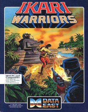 Ikari Warriors DOS front cover