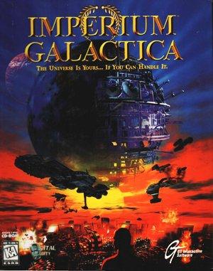 Imperium Galactica DOS front cover