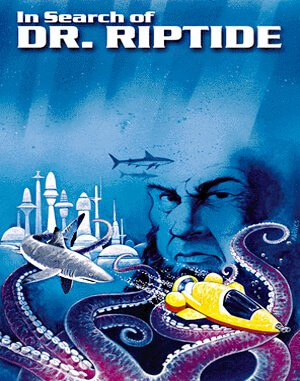 In Search of Dr. Riptide DOS front cover