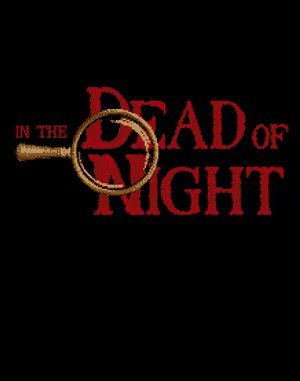 In the Dead of Night DOS front cover
