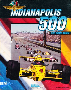 Indianapolis 500: The Simulation DOS front cover