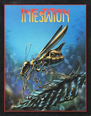 Infestation DOS front cover