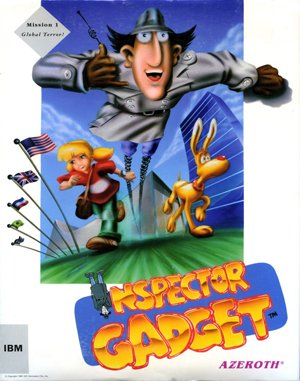 Inspector Gadget: Mission 1 – Global Terror! DOS front cover