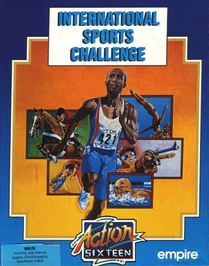 International Sports Challenge DOS front cover