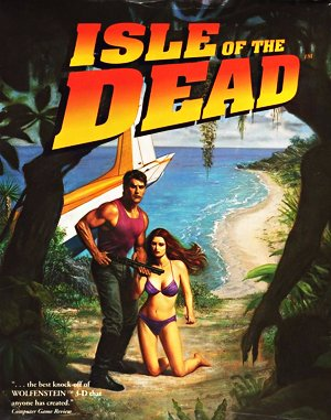 Isle of the Dead DOS front cover