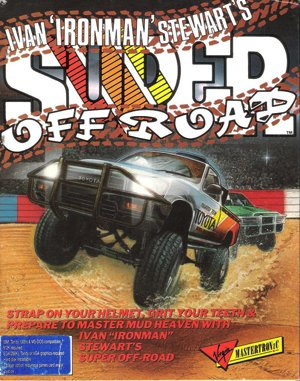 Ivan 'Ironman' Stewart's Super Off Road DOS front cover