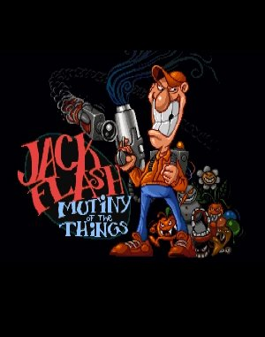 Jack Flash DOS front cover