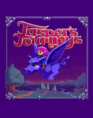 Jasper's Journeys DOS front cover