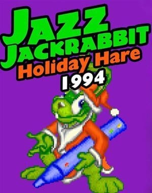 Jazz Jackrabbit: Holiday Hare 1994 DOS front cover