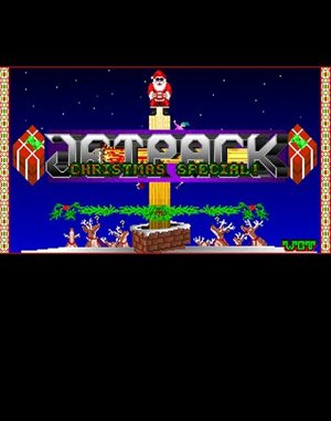 Jetpack: Christmas Special DOS front cover