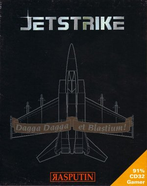 Jetstrike DOS front cover