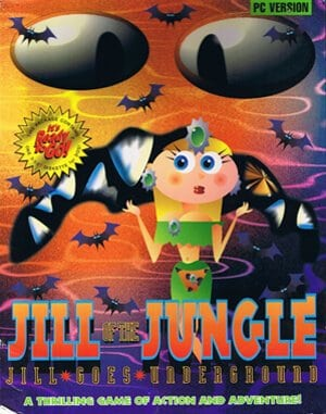 Jill of the Jungle: Jill Goes to Underground DOS front cover
