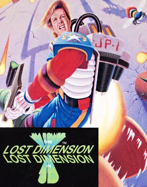 Jim Power: The Lost Dimension in 3D DOS front cover