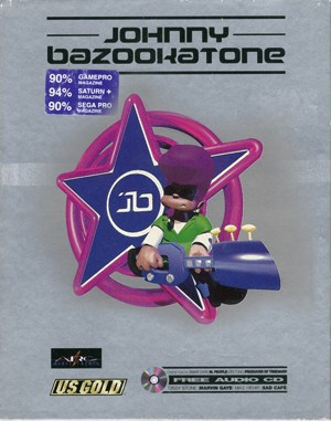 Johnny Bazookatone DOS front cover
