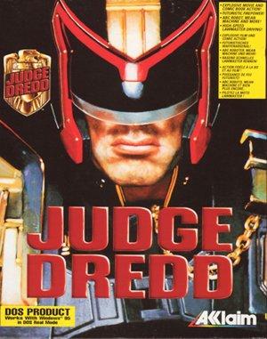 Judge Dredd DOS front cover