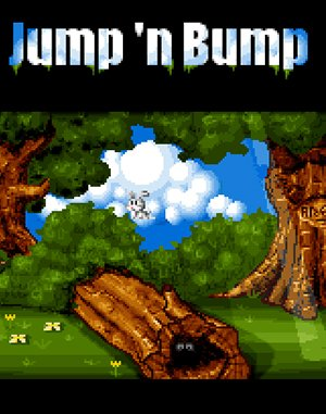 Jump 'n Bump DOS front cover