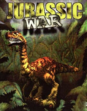 Jurassic War DOS front cover