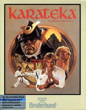 Karateka DOS front cover