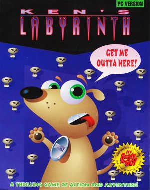 Ken's Labyrinth DOS front cover