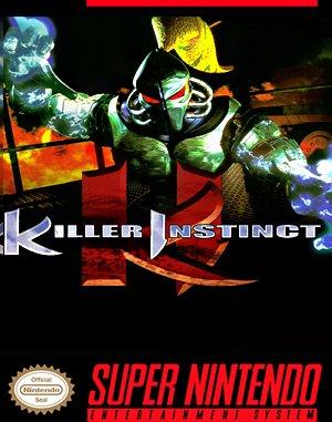 Killer Instinct SNES front cover