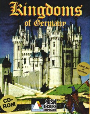 Kingdoms of Germany DOS front cover