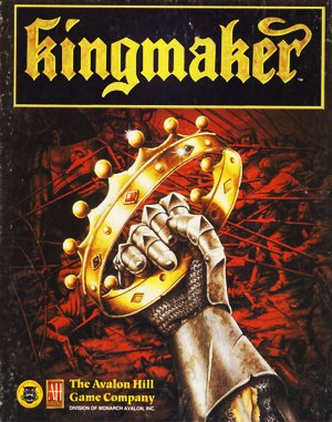 Kingmaker DOS front cover