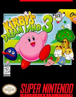 Kirby's Dream Land 3 SNES front cover