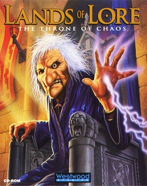 Lands of Lore: The Throne of Chaos DOS front cover