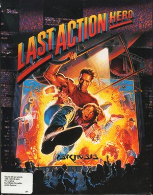 Last Action Hero DOS front cover
