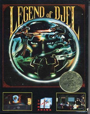 Legend of Djel DOS front cover