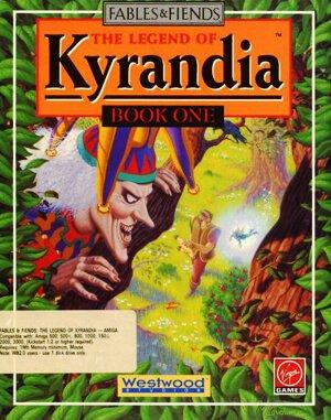 The Legend of Kyrandia DOS front cover