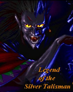 Legend of the Silver Talisman DOS front cover