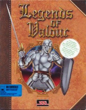 Legends of Valour DOS front cover
