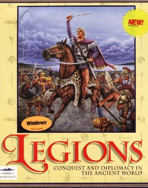 Legions DOS front cover