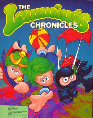 The Lemmings Chronicles DOS front cover