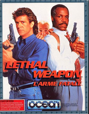 Lethal Weapon DOS front cover