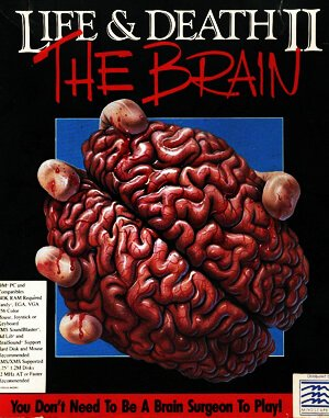 Life & Death 2 – The Brain DOS front cover