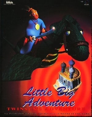 Little Big Adventure DOS front cover