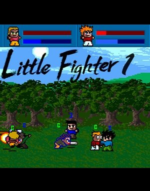 Little Fighter DOS front cover