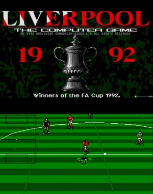 Liverpool: The Computer Game DOS front cover