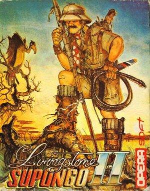 Livingstone Supongo 2 DOS front cover